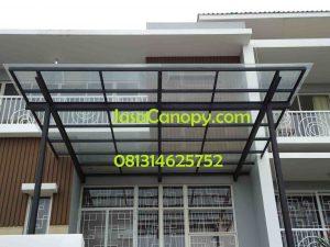 Jasa Pemasangan Canopy atap baja ringan & Alderon