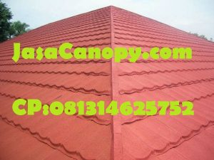 Pemasangan Atap Genteng Metal
