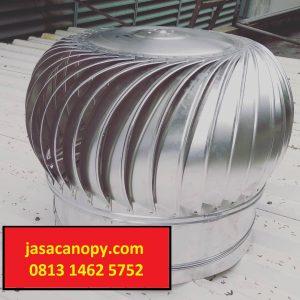 Perlukah Memasang Turbin Ventilator